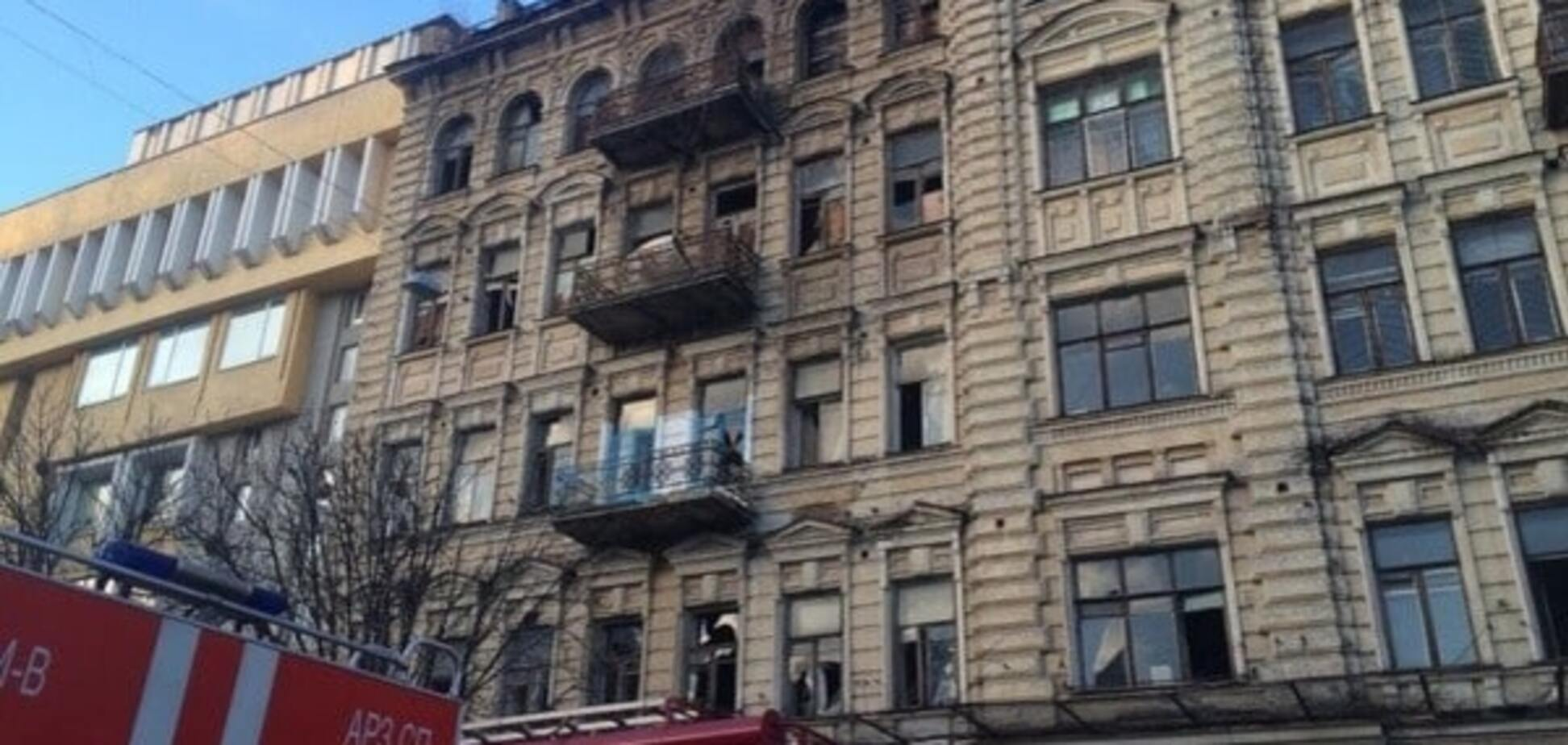 Обвалення будинку в Києві: в КМДА розповіли про небезпечний фасад