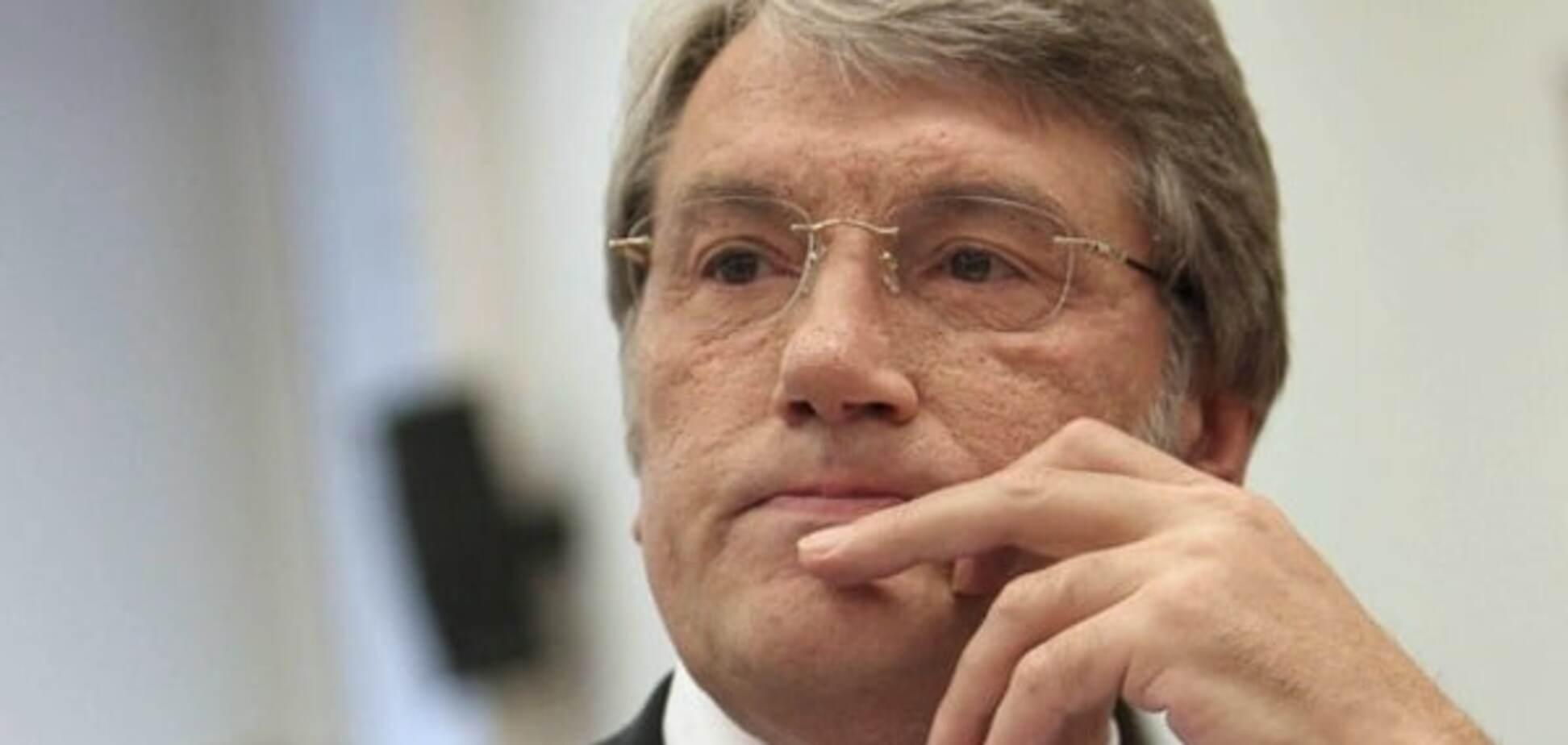 'Чувствую запах горящих шин': Ющенко анонсировал 'Майдан-3'