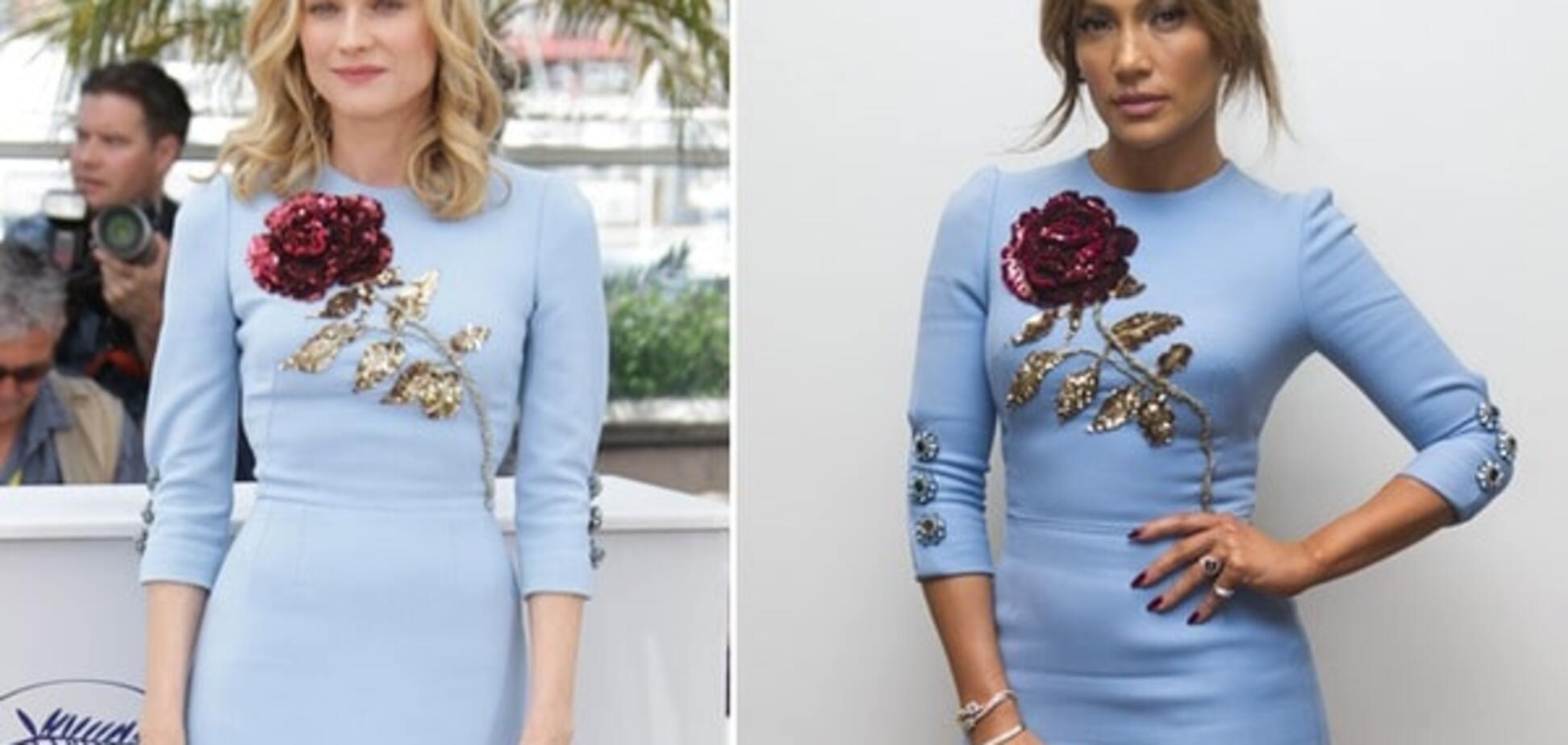 Модная битва: Диана Крюгер против Дженнифер Лопес