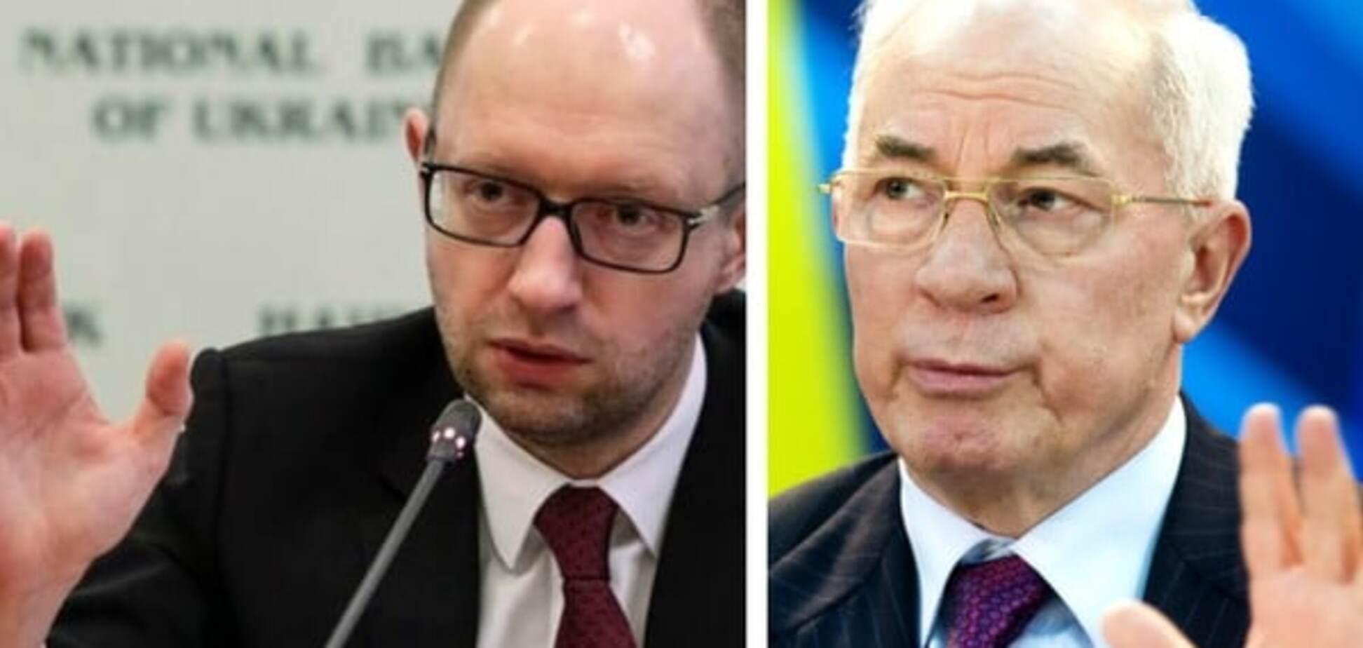 Уезжаешь, куда хочешь: 'премьер-пенсионер' Азаров предложил пари Яценюку