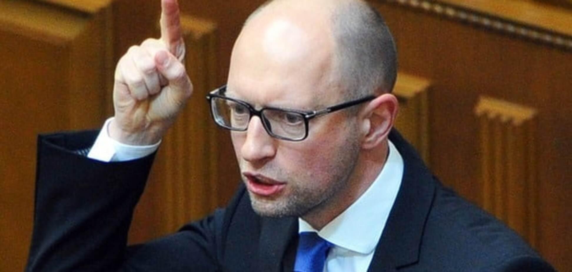 Яценюк назвал крайний срок утверждения списка новых дорог