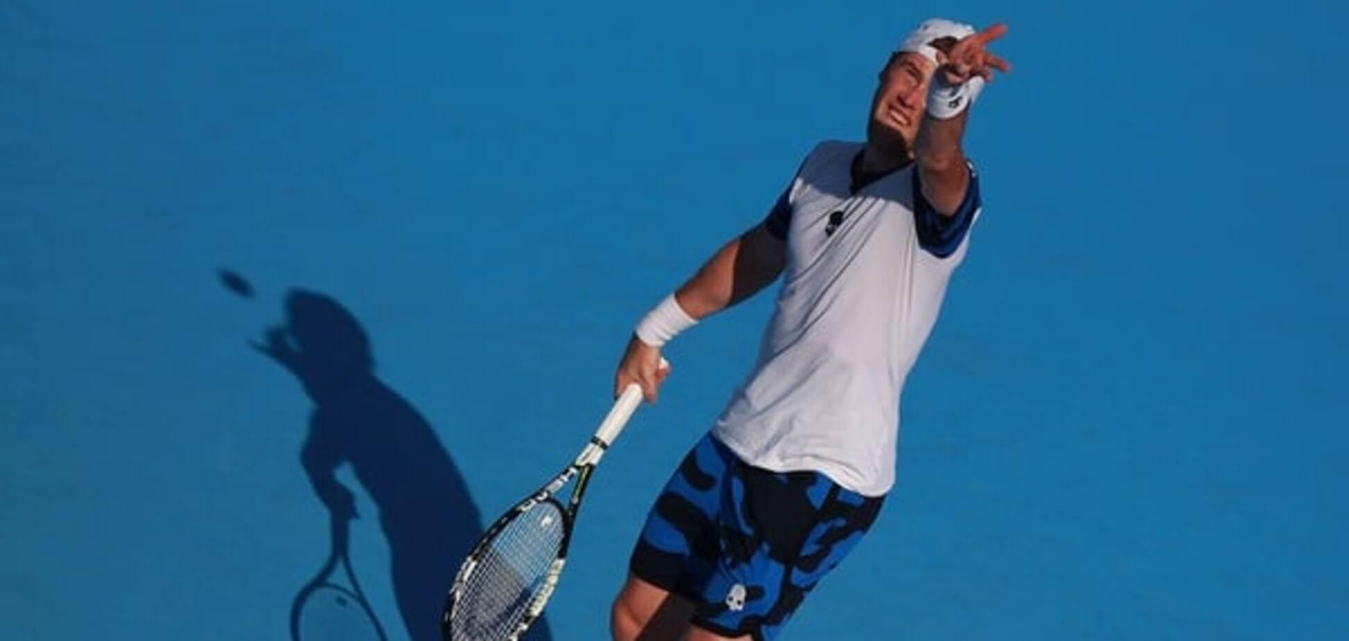 Украинец победил знаменитого российского чемпиона на теннисном супертурнире в США