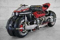 Во Франции создан 4-колесный мотоцикл с мотором от Maserati
