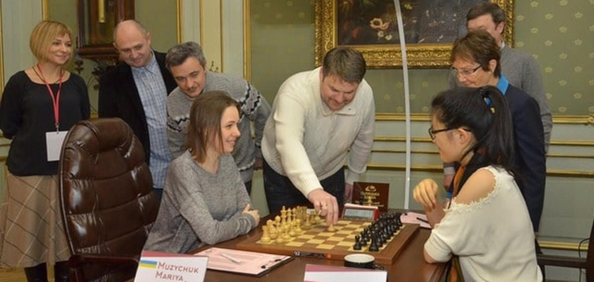 Музичук зіграла внічию у восьмій партії фіналу чемпіонату світу