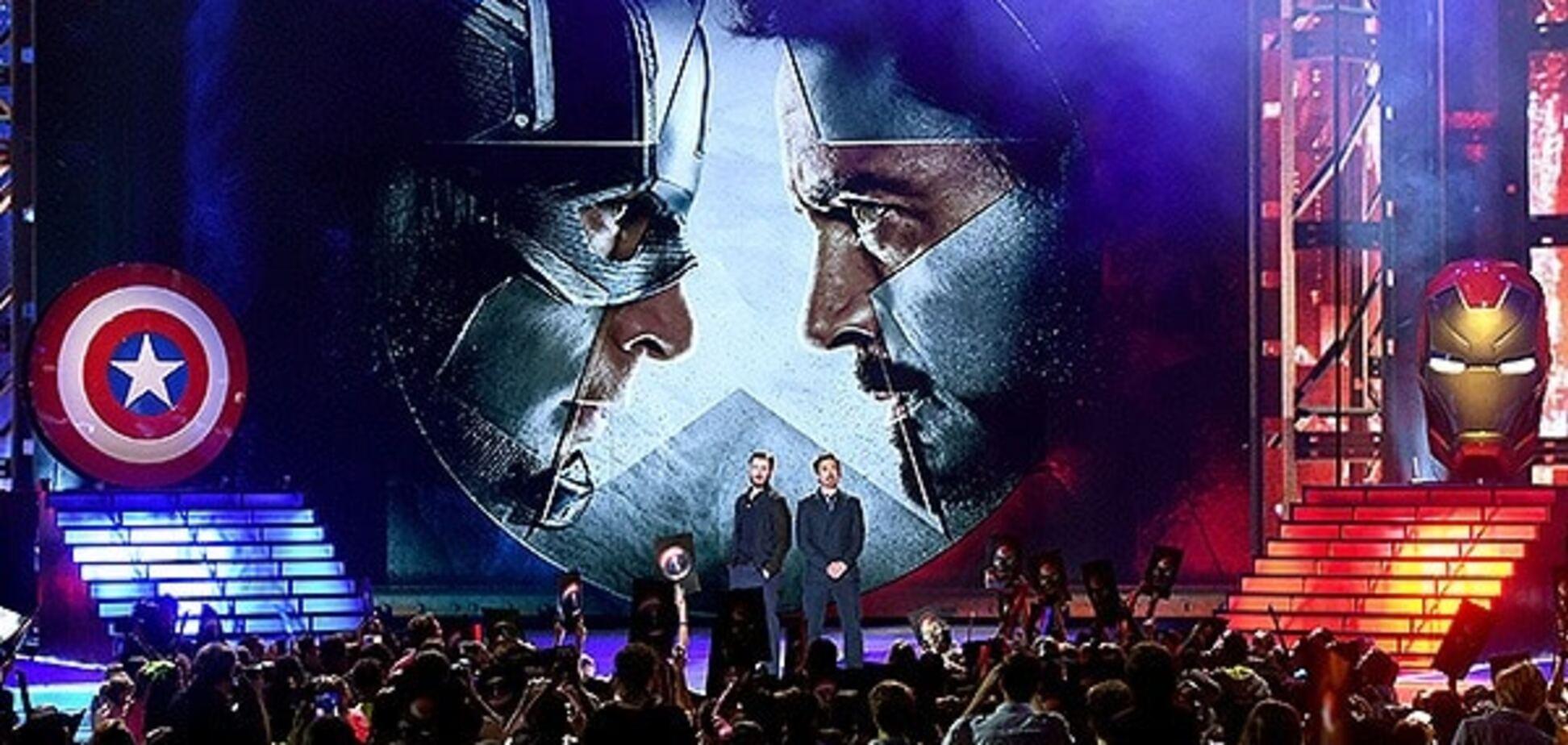 Железный человек и Кэп посетили Kids' Choice Awards-2016