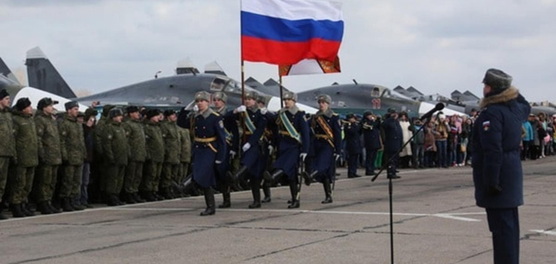 Российские военные, вернувшиеся из Сирии