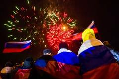 празднование аннексии Крыма