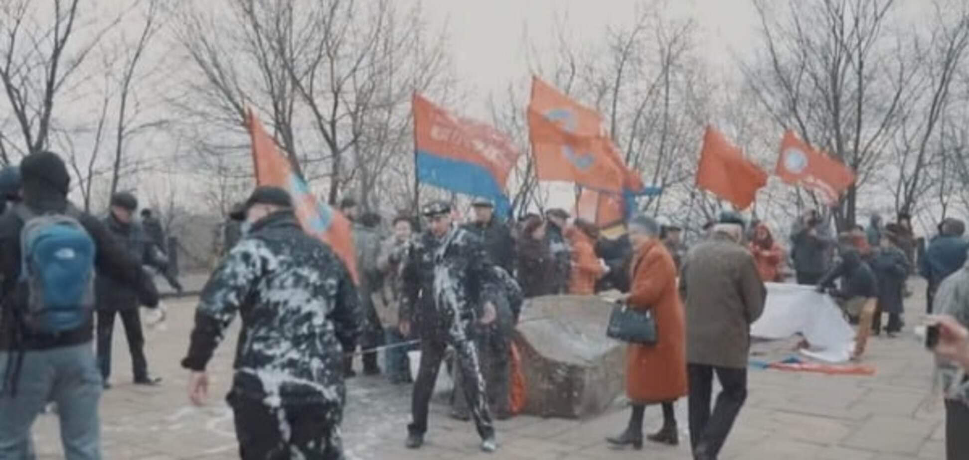 Митинг за СССР в Киеве