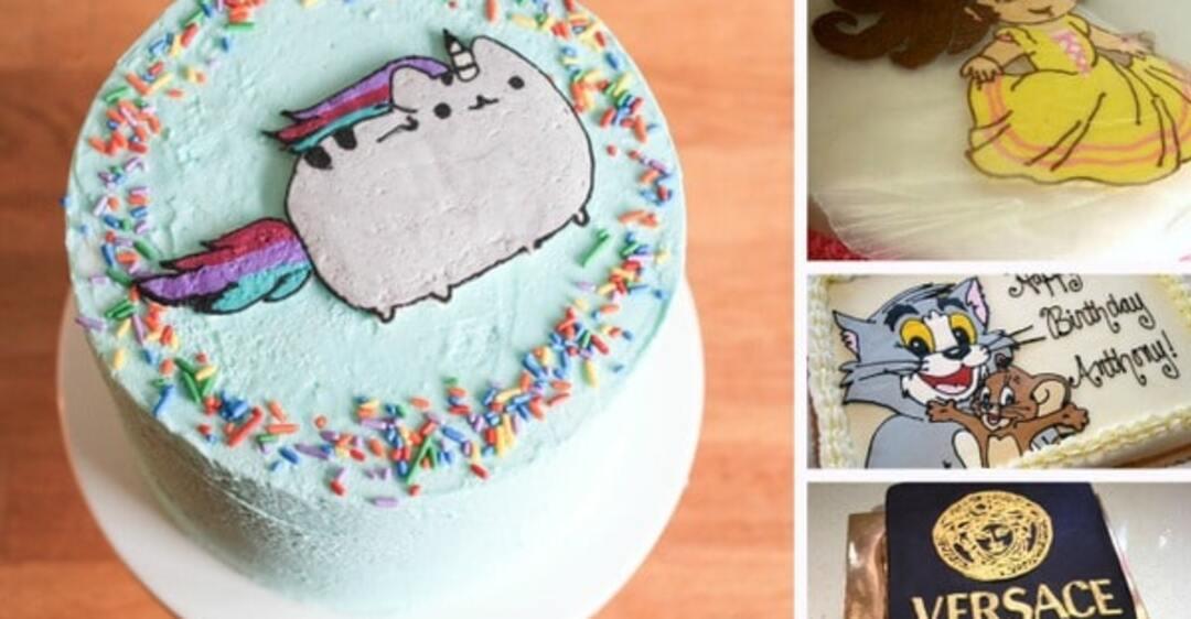 чем делают картинки на тортах для декора