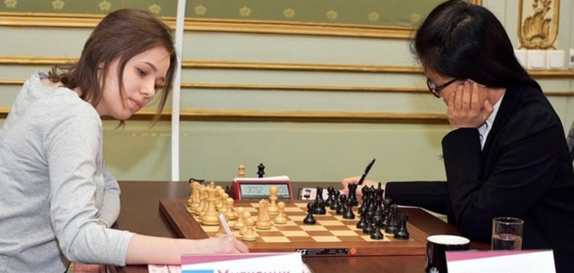 Украинка Музычук сыграла вничью первую партию финала чемпионата мира по шахматам