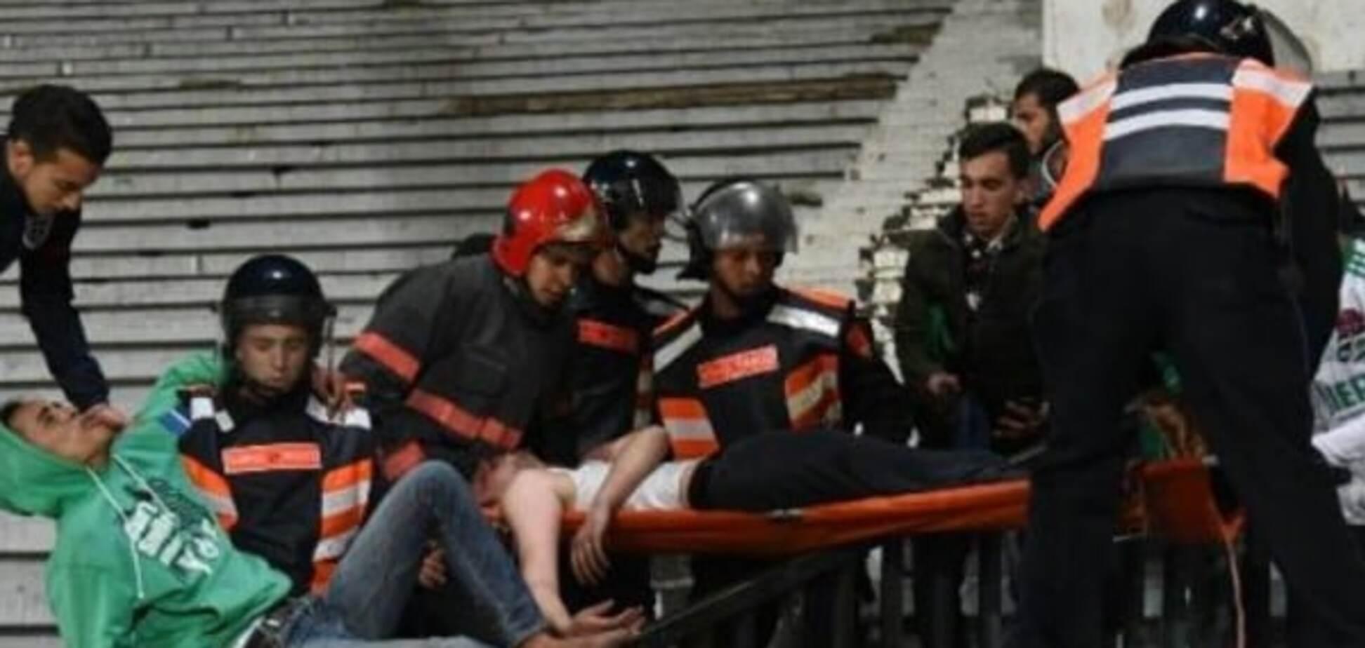 Три футбольних уболівальника загинули в масовій бійці в Марокко: відео трагедії