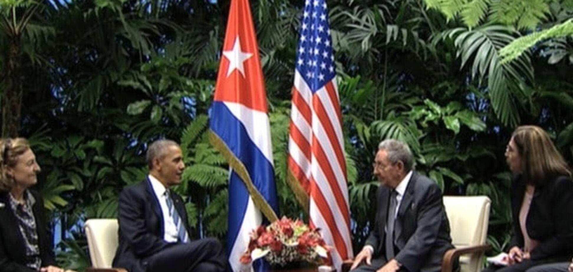 Дякую, Америка! Кастро в присутності Обами відреагував на закінчення блокади Куби