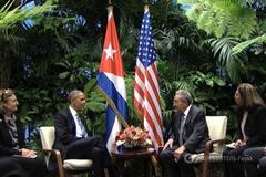 Рауль Кастро, Барак Обама