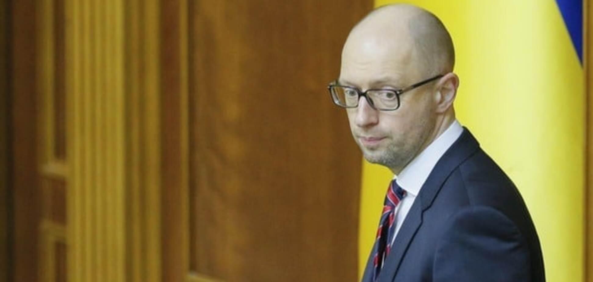Непопулярность Яценюка: в БПП рассказали, почему Кабмин нужно менять