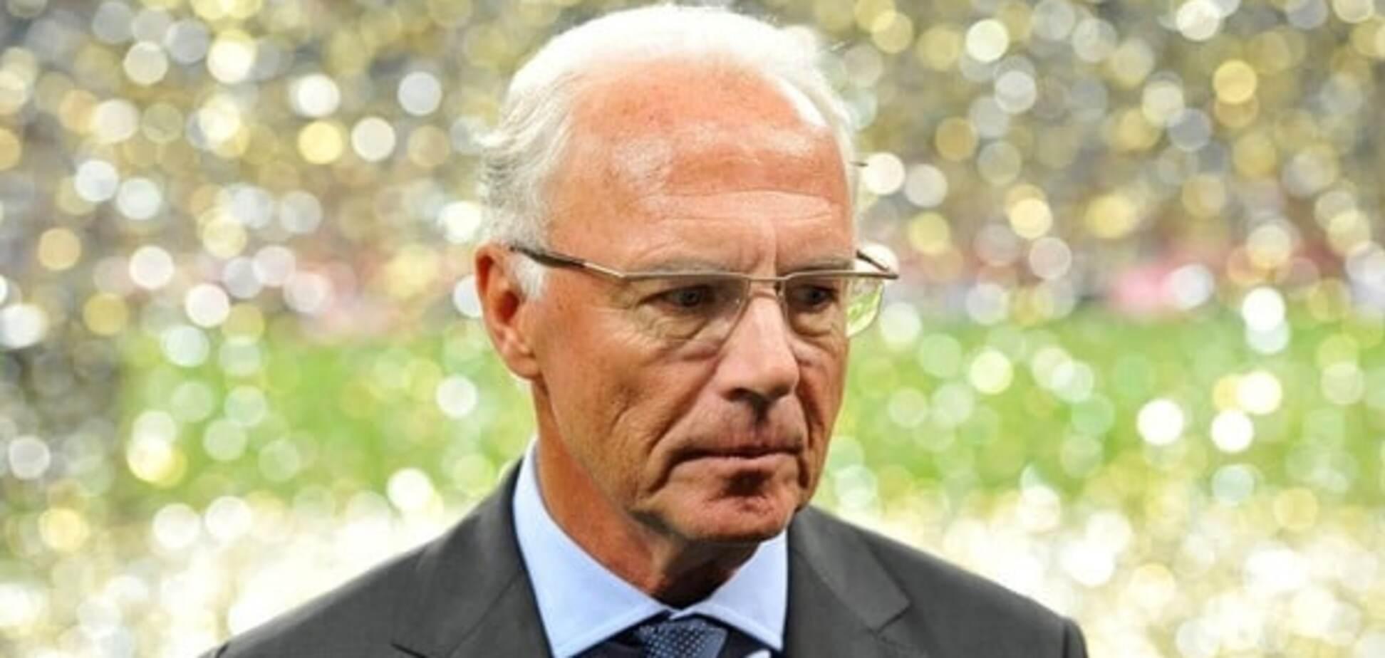 ФІФА відкрила справу на легендарного Беккенбауера