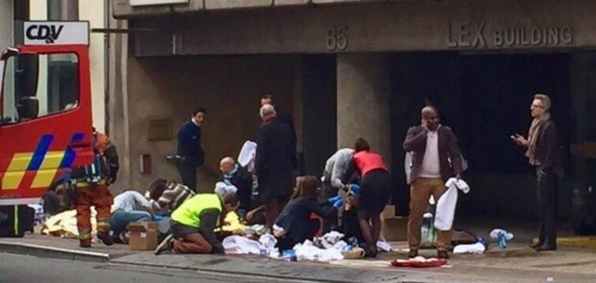 Взрыв в Бельгии