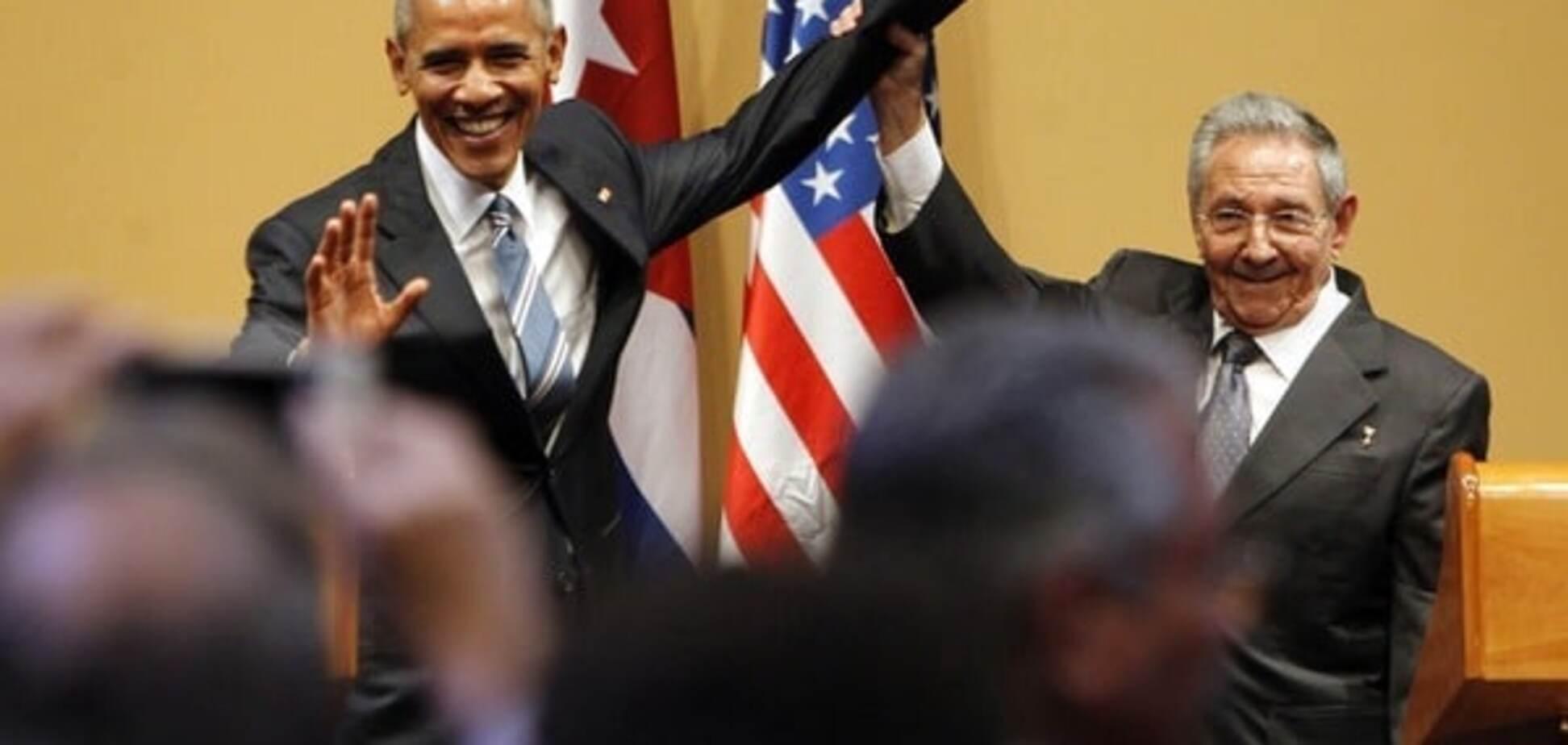 Конфуз Обами і Кастро: брата кубинського лідера порівняли з жінкою