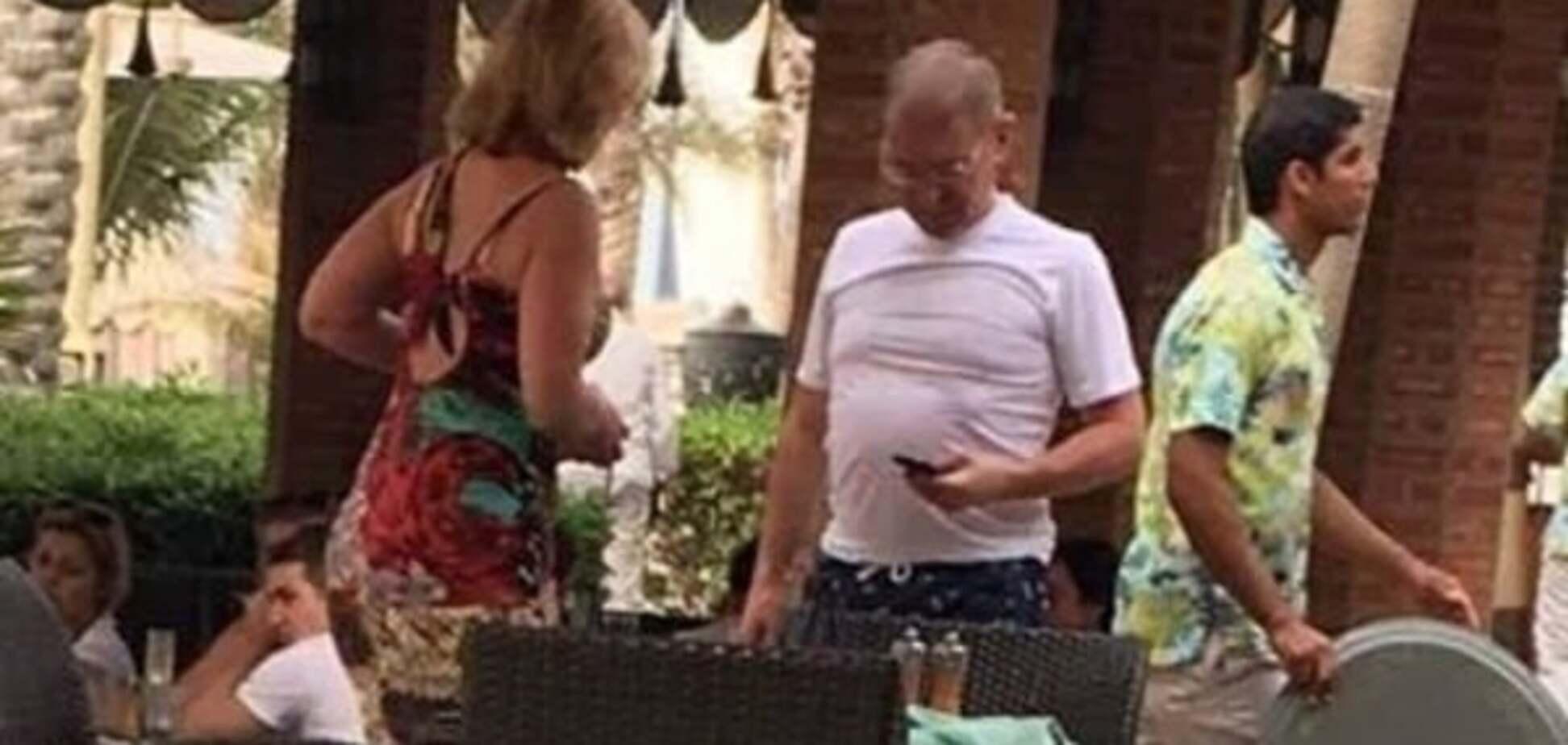 Не покладаючи рук: Пашинського застукали на 'роботі з виборцями' в Дубаї
