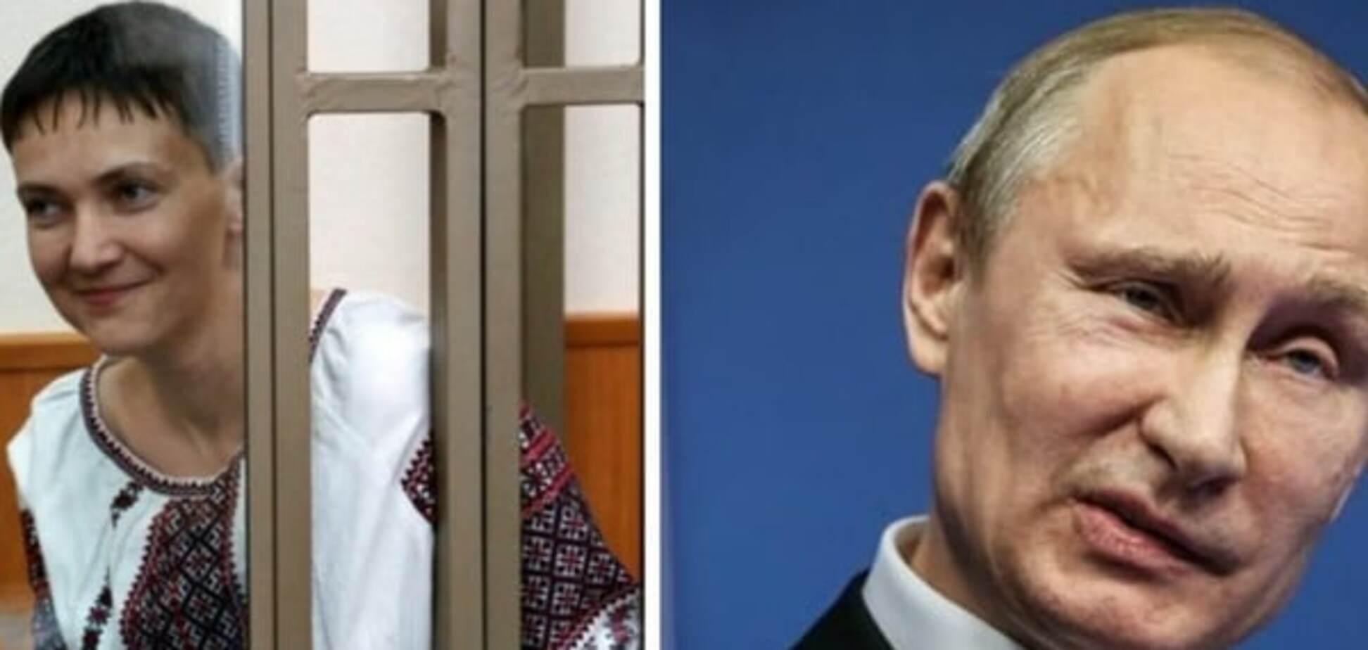 Надежда Савченко, Владимир Путин