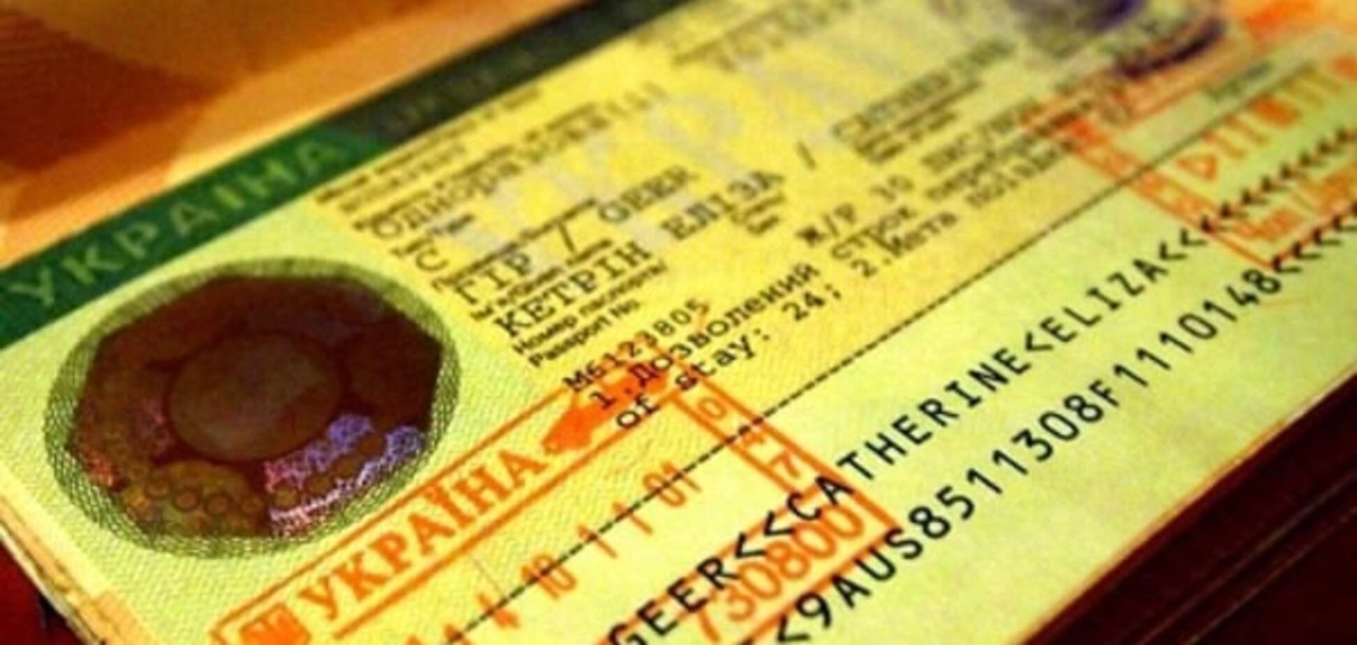 Украина теряет прибыли из-за сложности получения виз гражданами азиатских стран