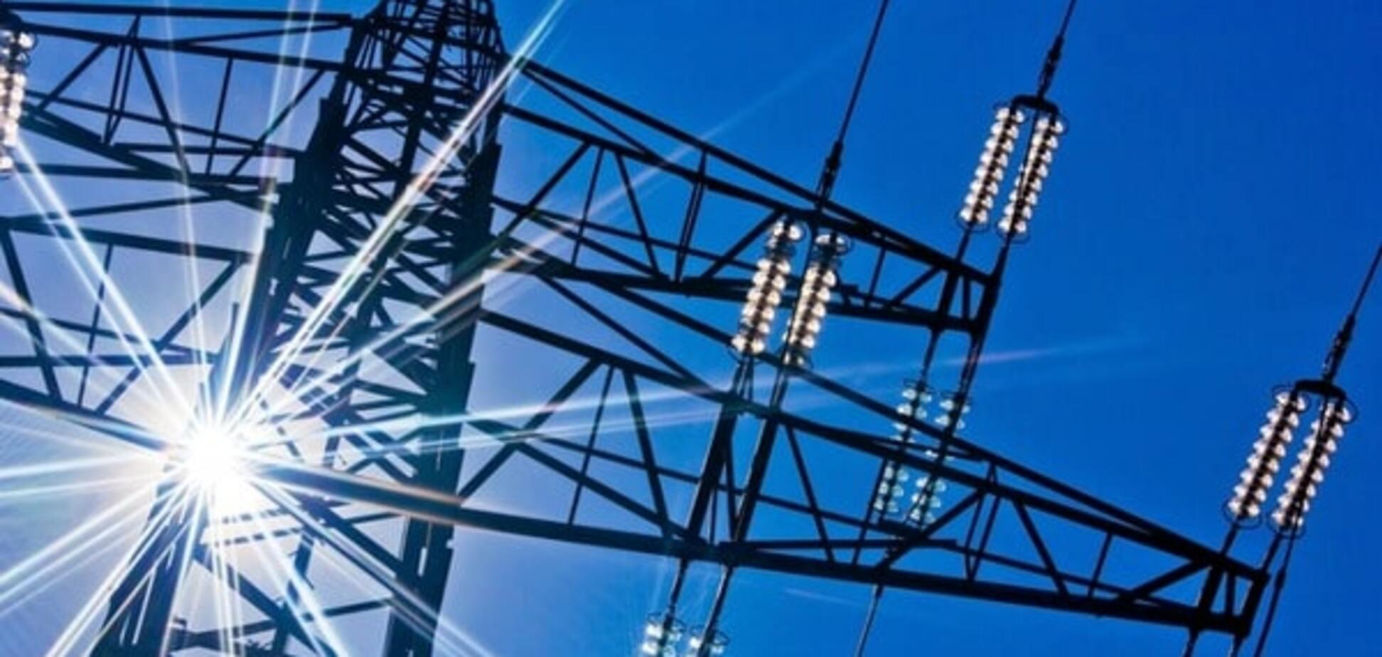 Экспорт электроэнергии из Украины