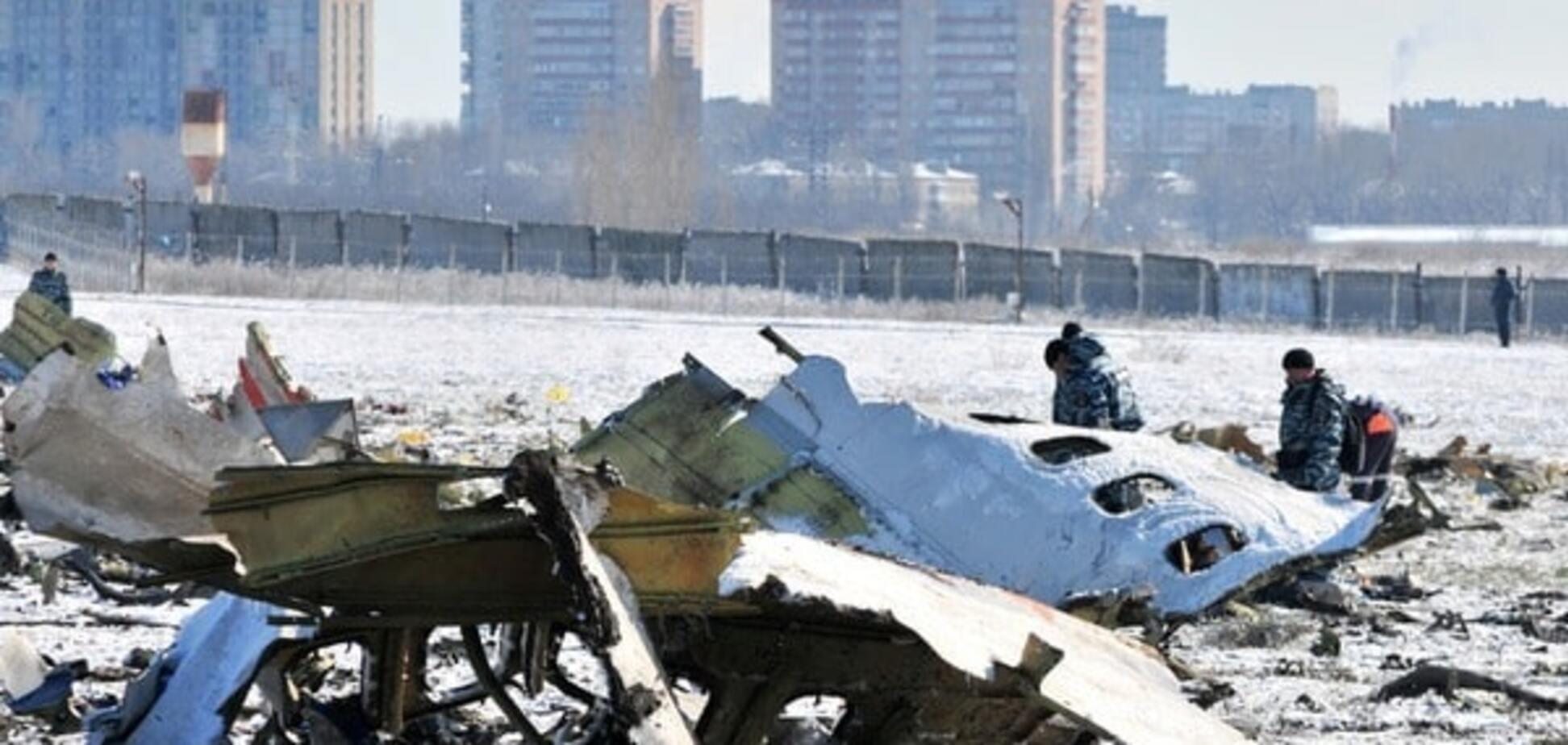 Крушение Boeing в Ростове