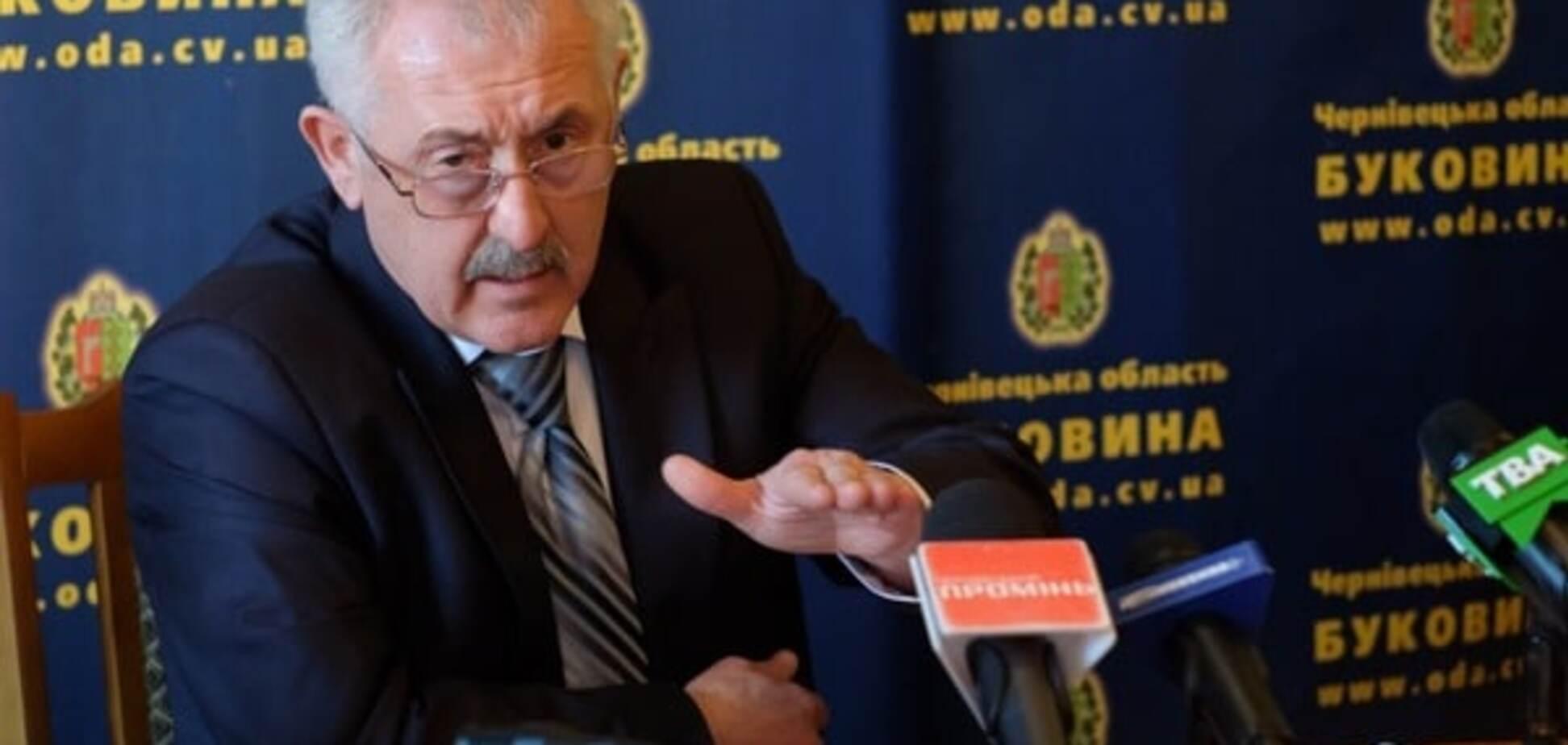 На Буковині ставленик Яценюка заблокував обрання голови обласного лісгоспу