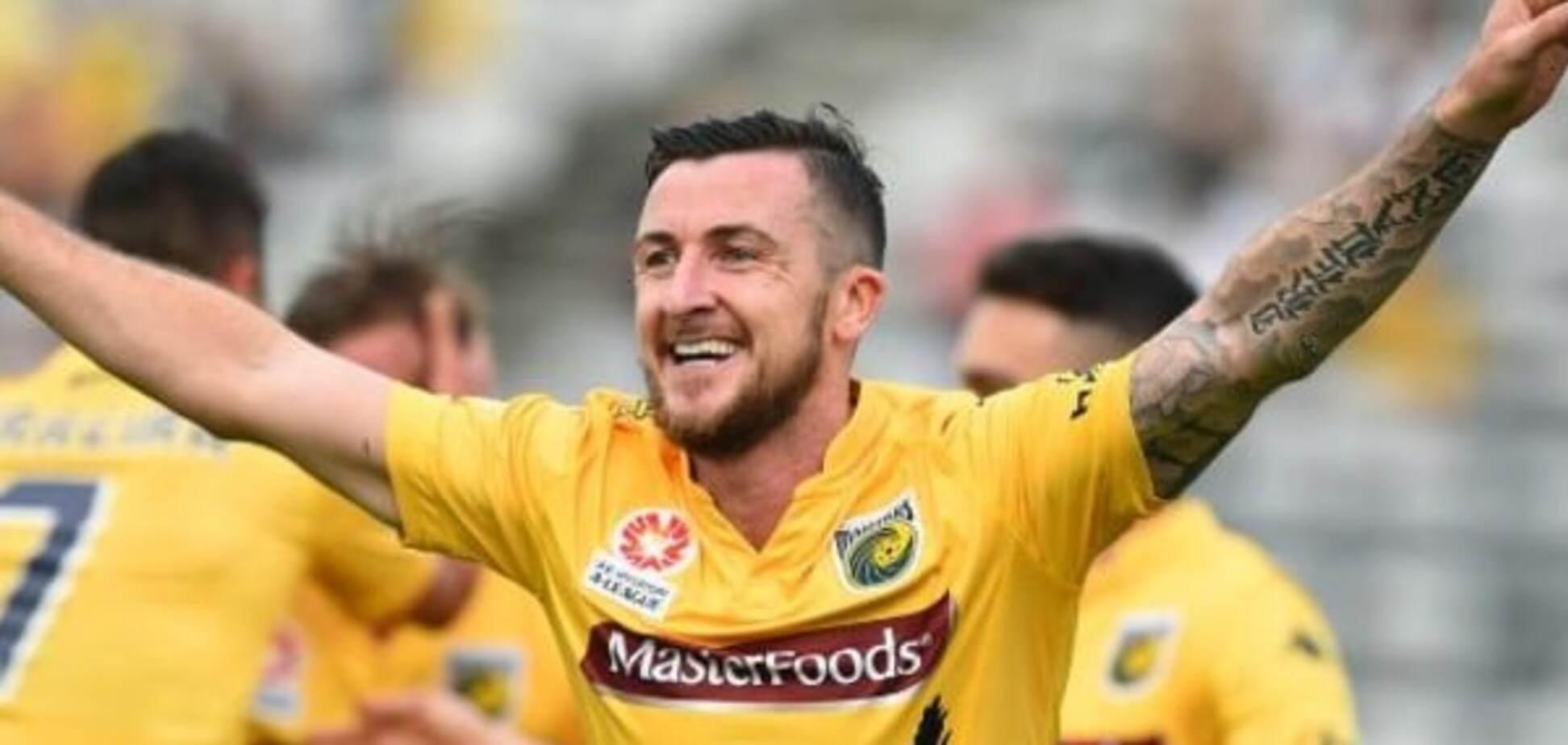 Ірландський футболіст забив естетичний гол у чемпіонаті Австралії: відео шедевра