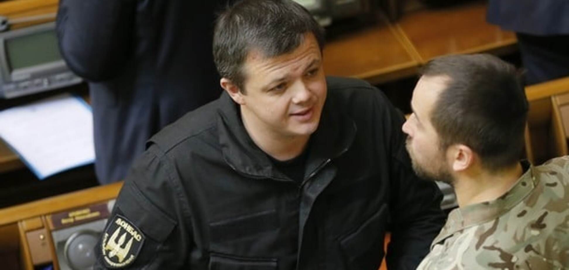 Семен Семенченко в Раде
