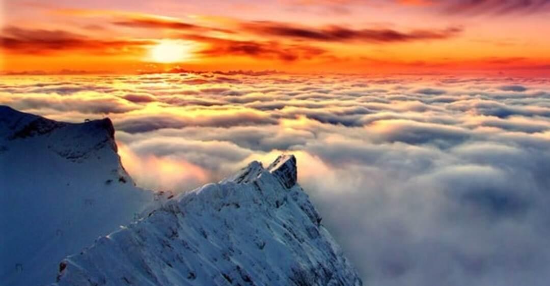 картинка выше облаков в горах посещения забудьте