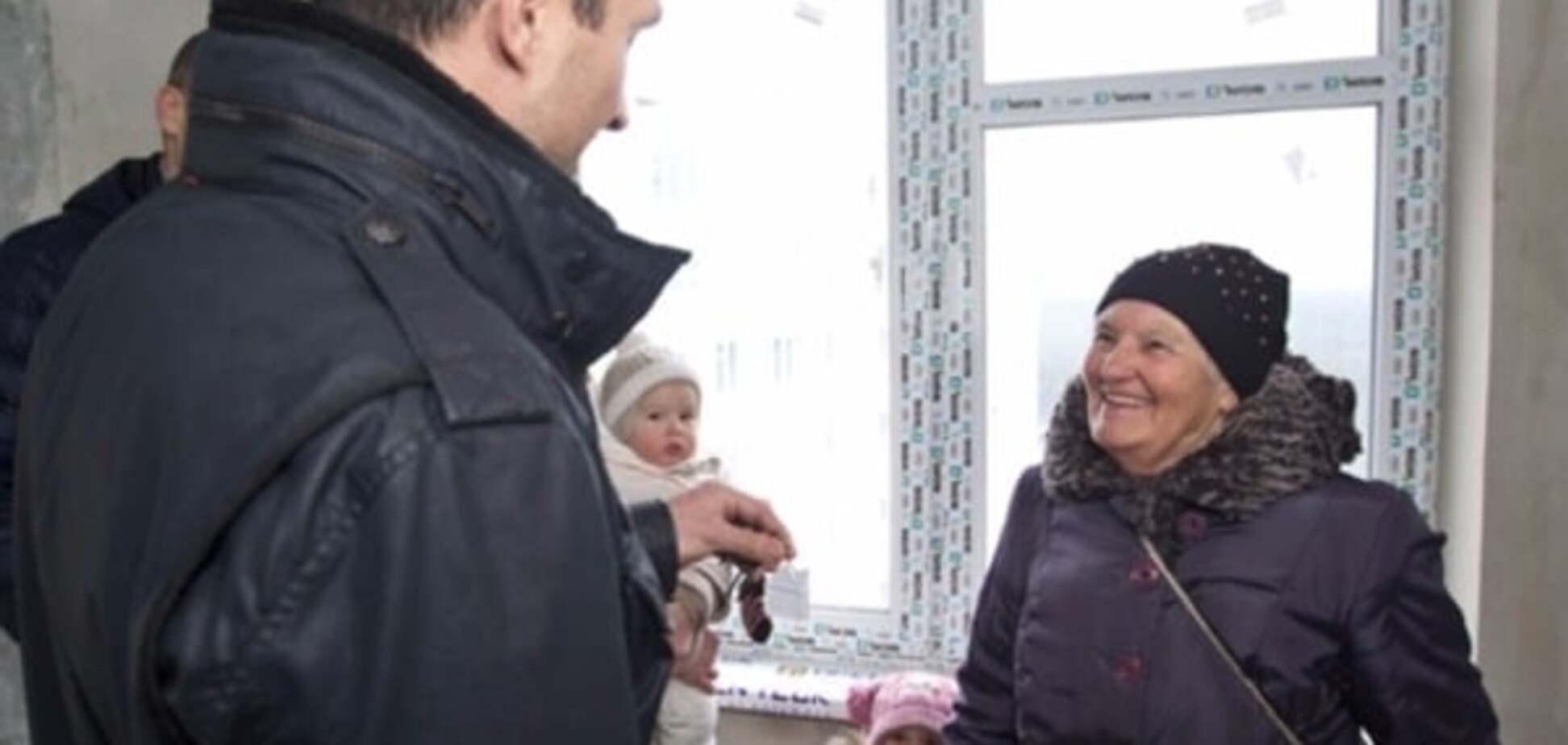 Сестра Стуса рассказала о подаренной братьями Кличко квартире