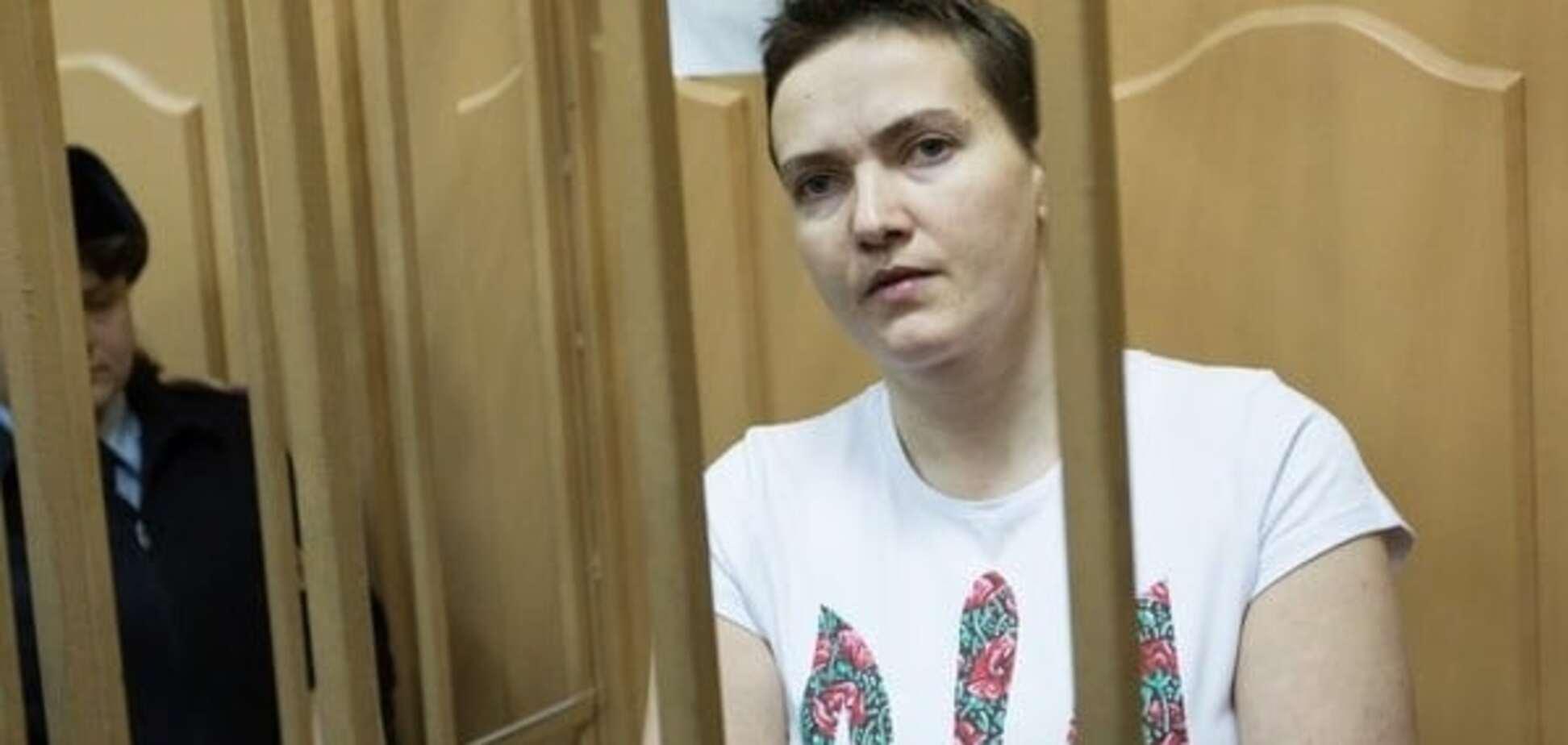 Так и не дали сказать: опубликовано последнее слово Савченко в суде. Фотофакт
