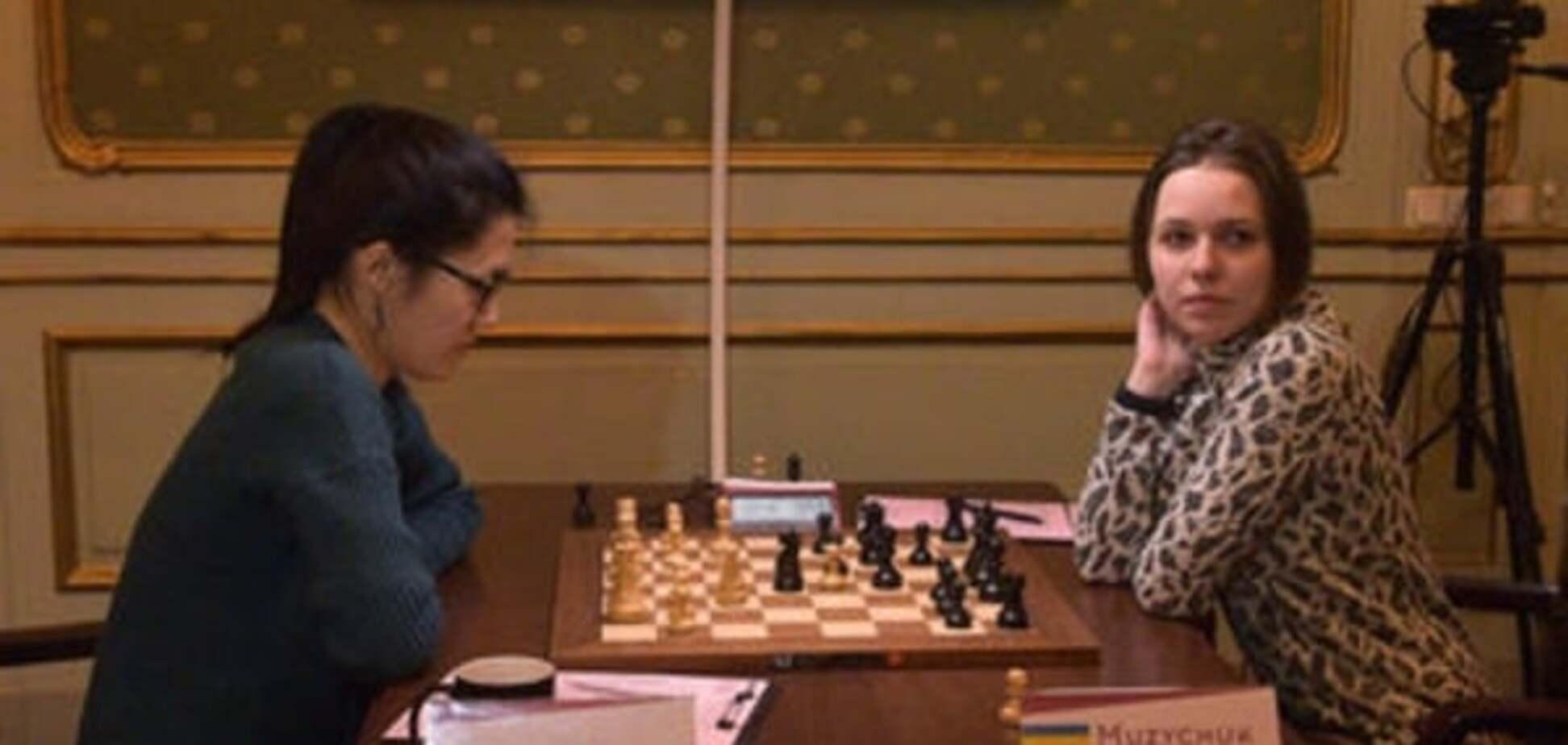 Украинка Музычук проиграла вторую партию финала чемпионата мира по шахматам