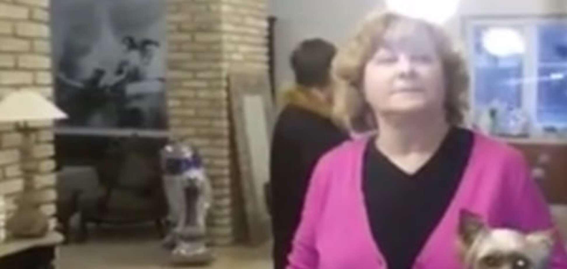 'Театр одного актера': Шовковский опубликовал видео 'разборок' с тещей из-за исчезновения дочери