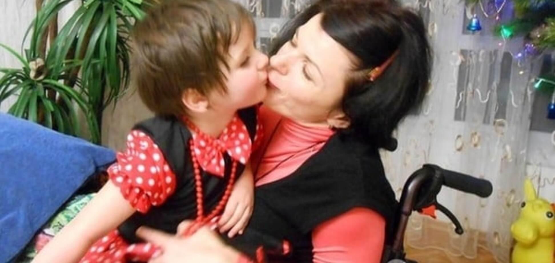 'Я повинна встати на ноги - заради дочки!' Неймовірна історія кохання і стійкості киянки з ДЦП