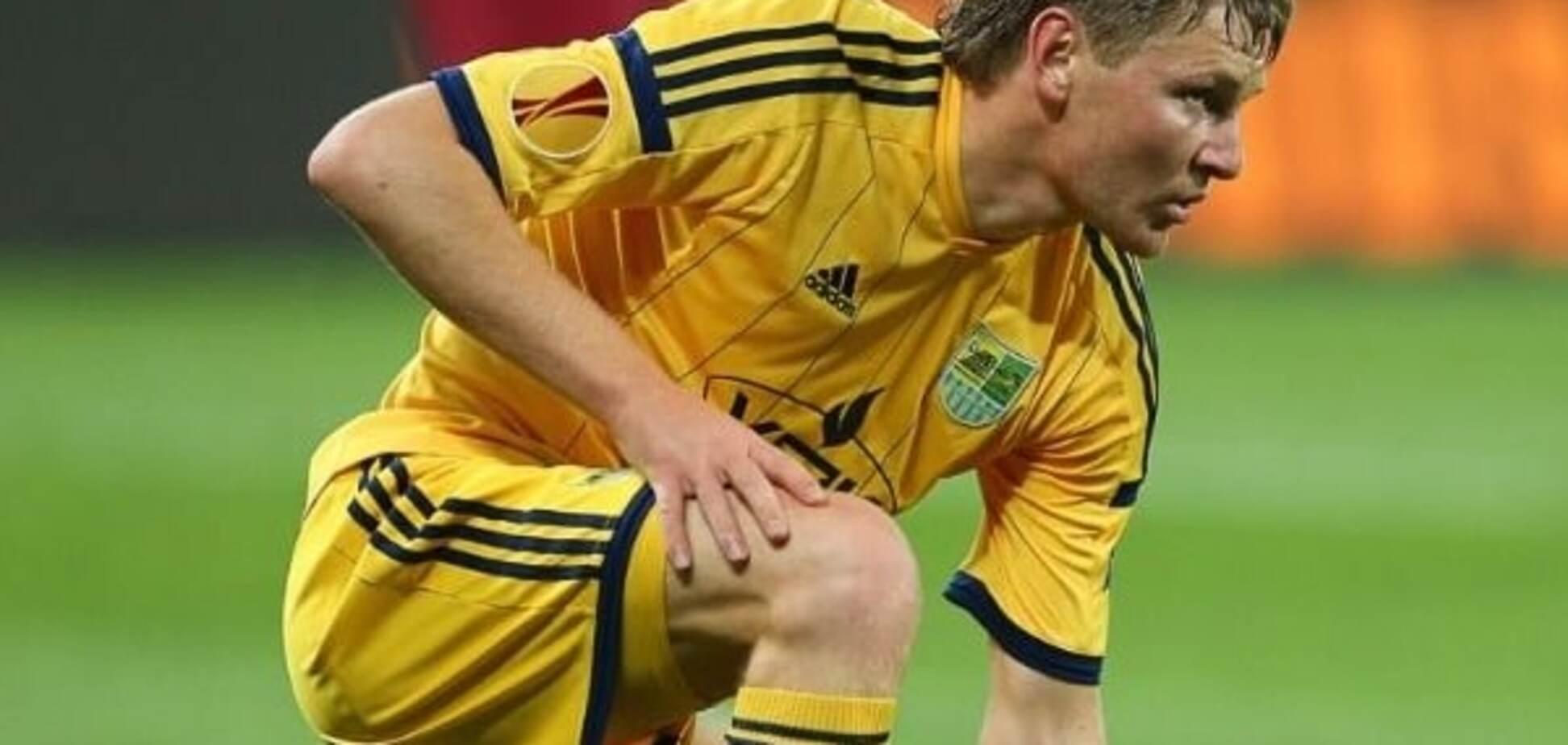 Известный украинский футболист завершил карьеру в 30 лет