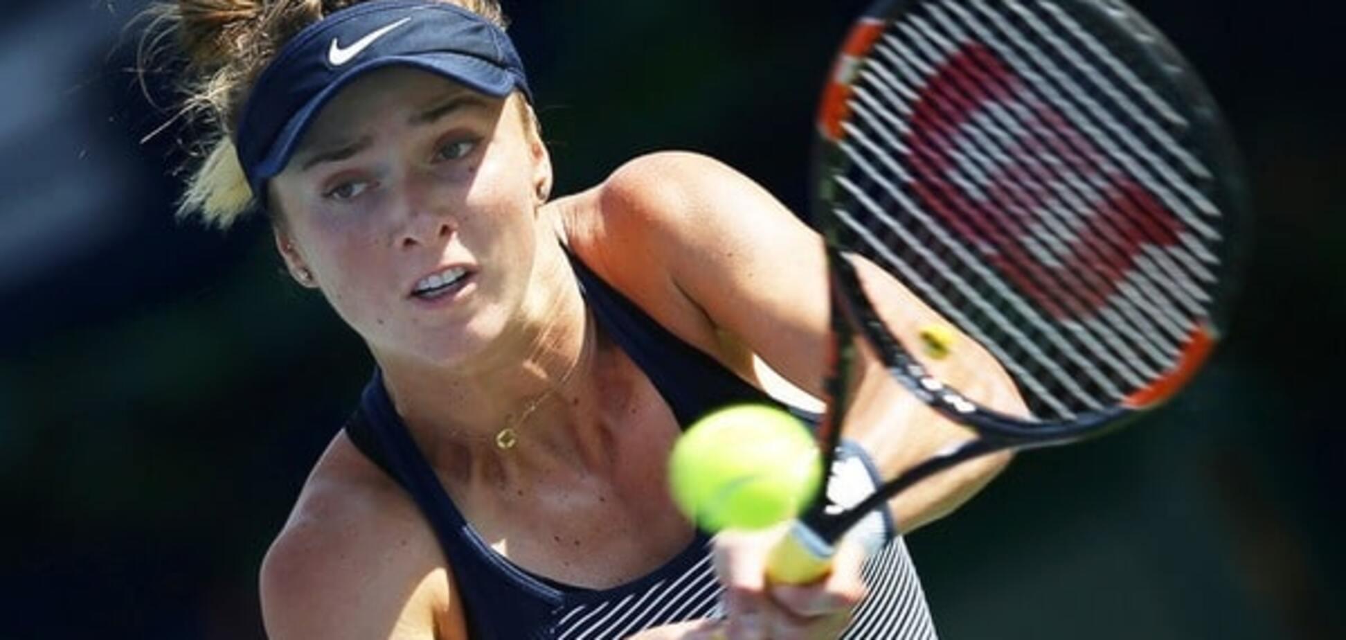 Українська тенісистка ефектно вийшла в півфінал престижного турніру