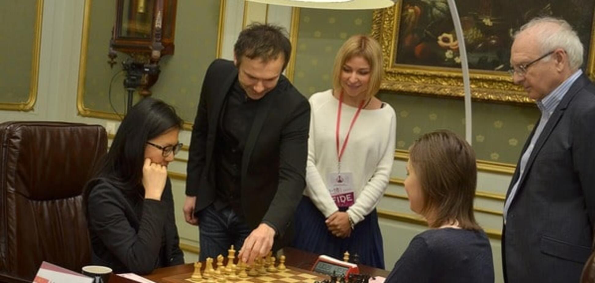 Українка Музичук зіграла внічию четверту партію фіналу чемпіонату світу з шахів
