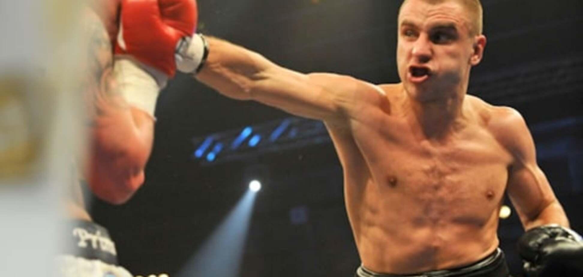 Украинский боксер подписал контракт на бой за титул чемпиона мира