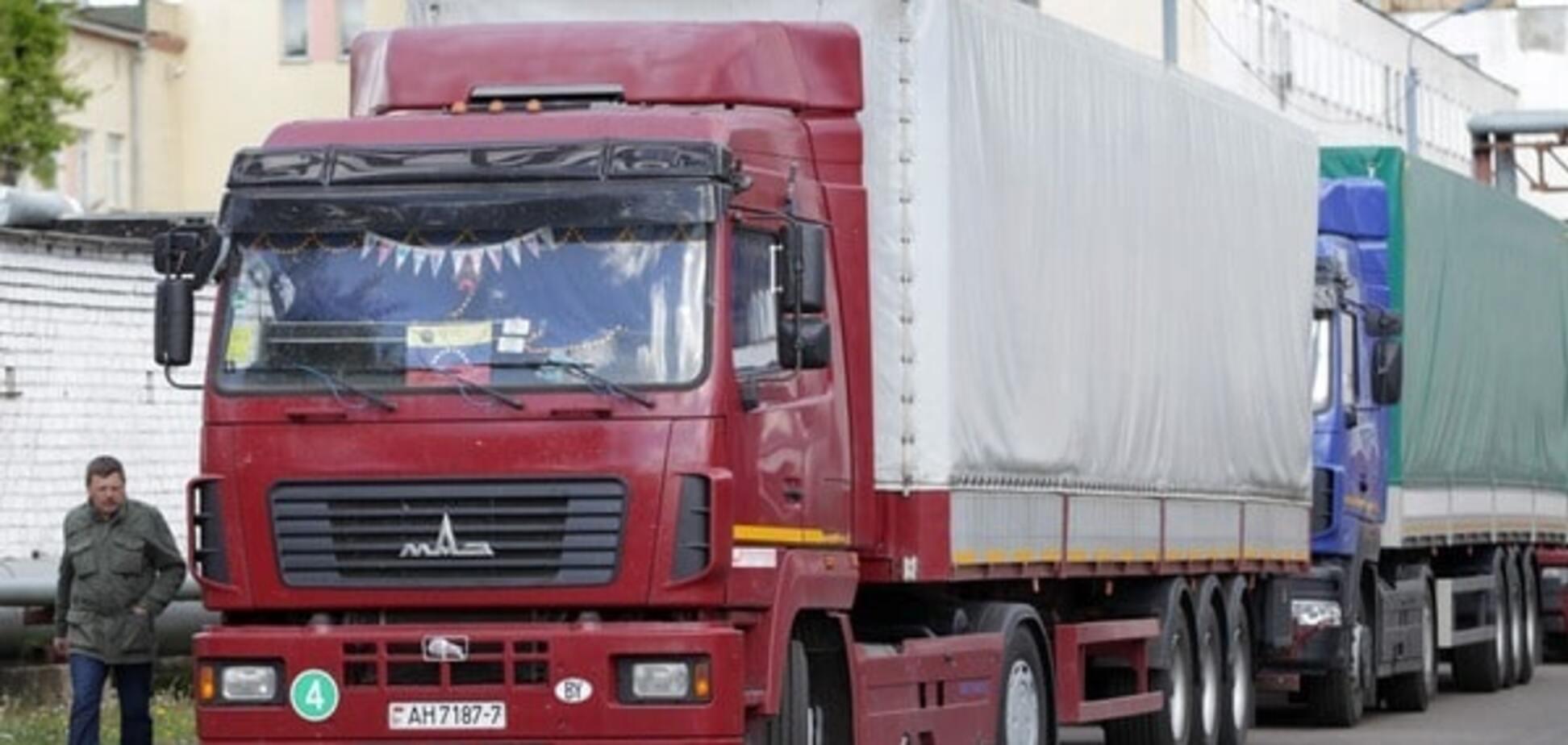 Российские фуры прорвали блокаду в Волынской области