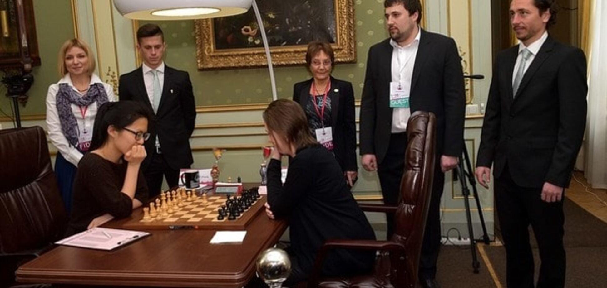 Украинка Музычук сыграла вничью пятую партию финала чемпионата мира по шахматам