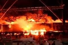 Стали відомі причини смертельної пожежі в Індії: опубліковано відео