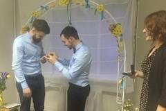 У Києві відбулося перше гей-весілля: опубліковано фото
