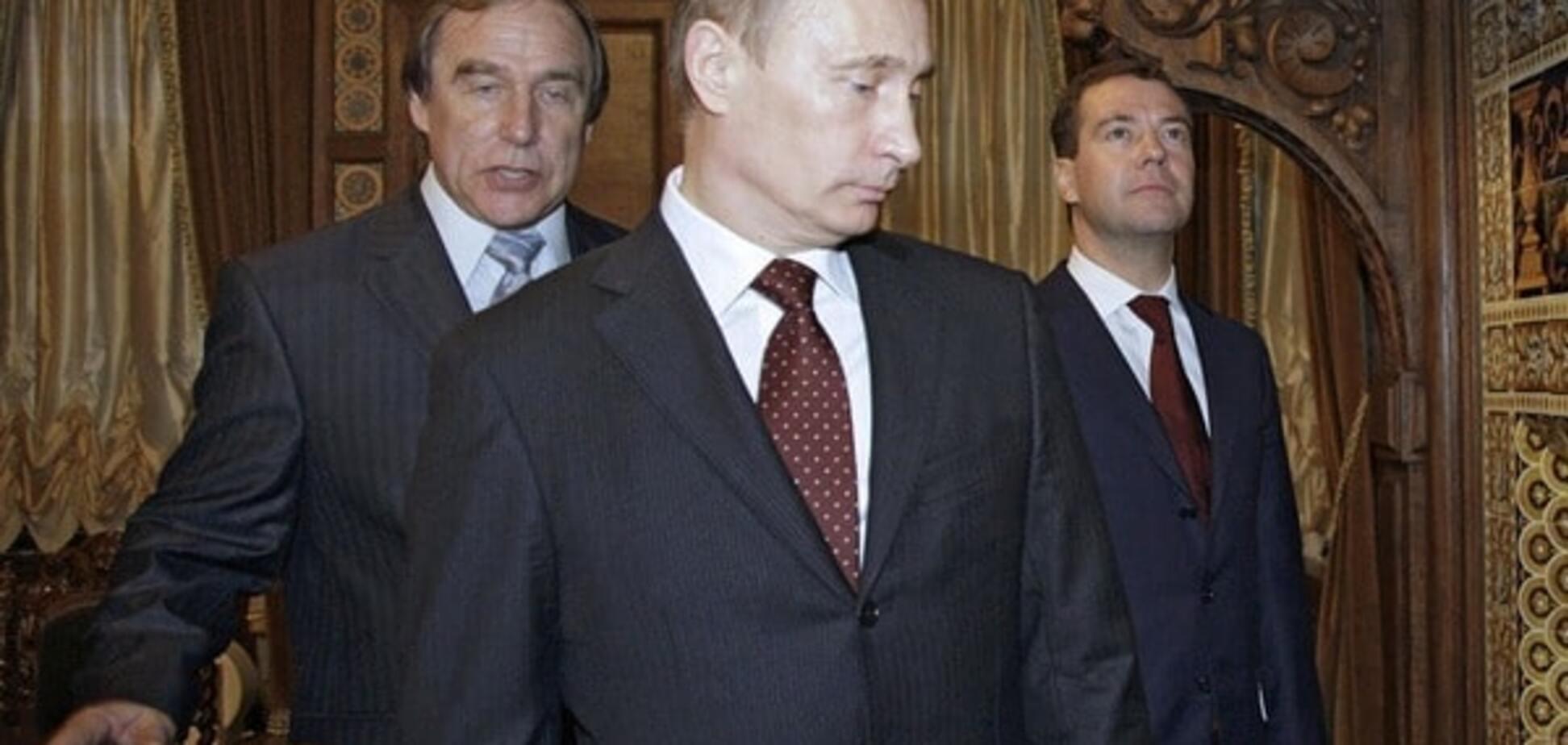 Сергей Ролдугин, Владимир Путин и Дмитрий Медведев