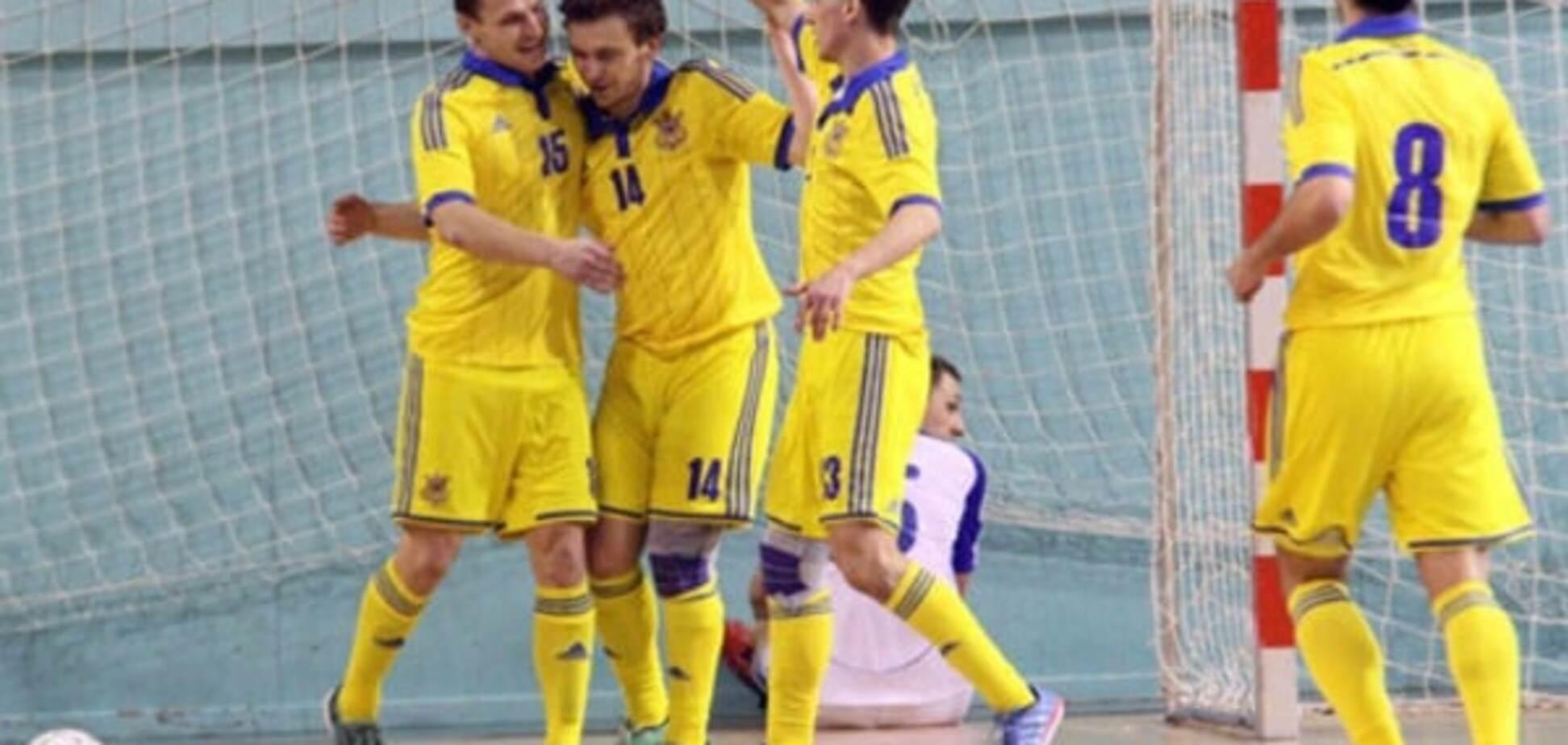 Збірна України з футзалу вийшла на чемпіонат світу