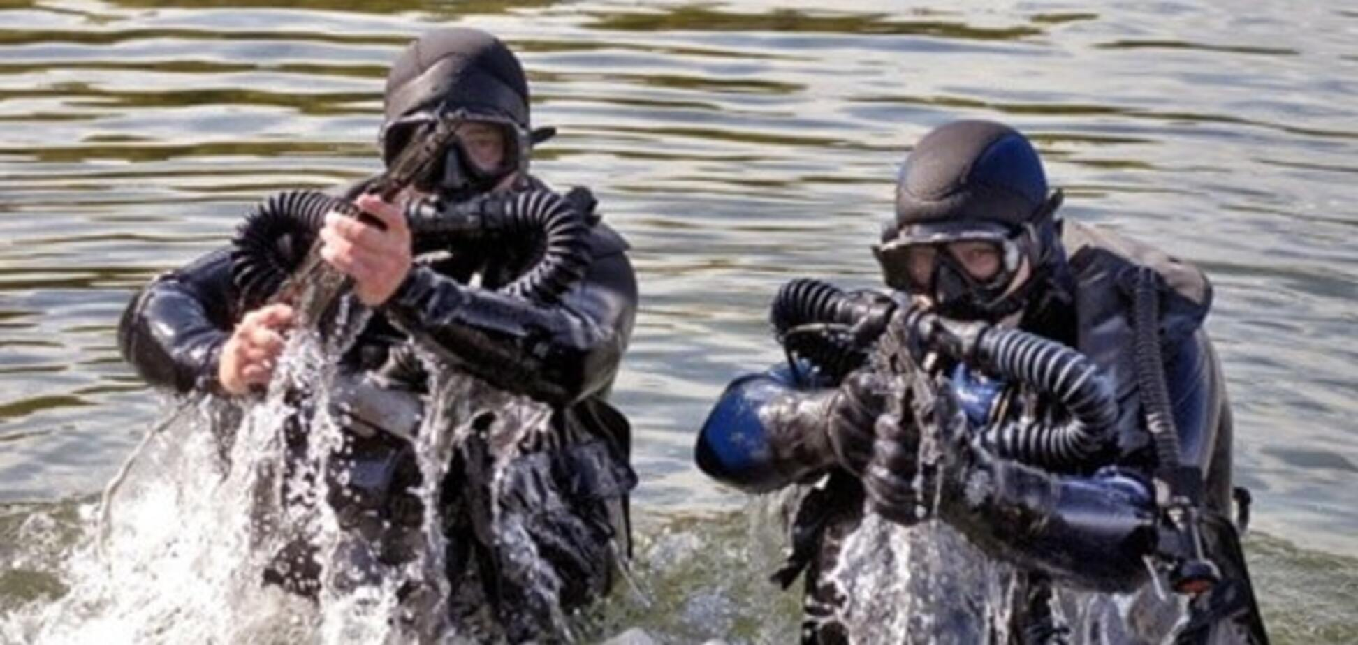 В Украине появится отряд военных водолазов