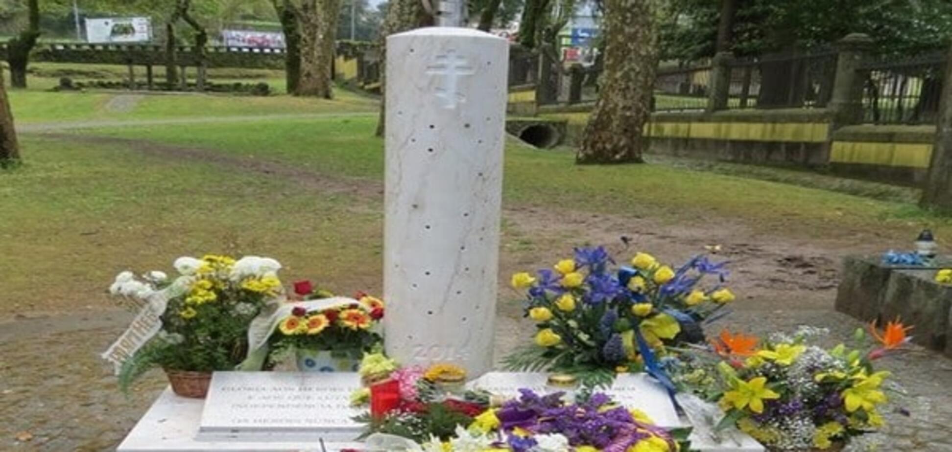 В Португалии открыли памятник Героям Небесной Сотни: фоторепортаж