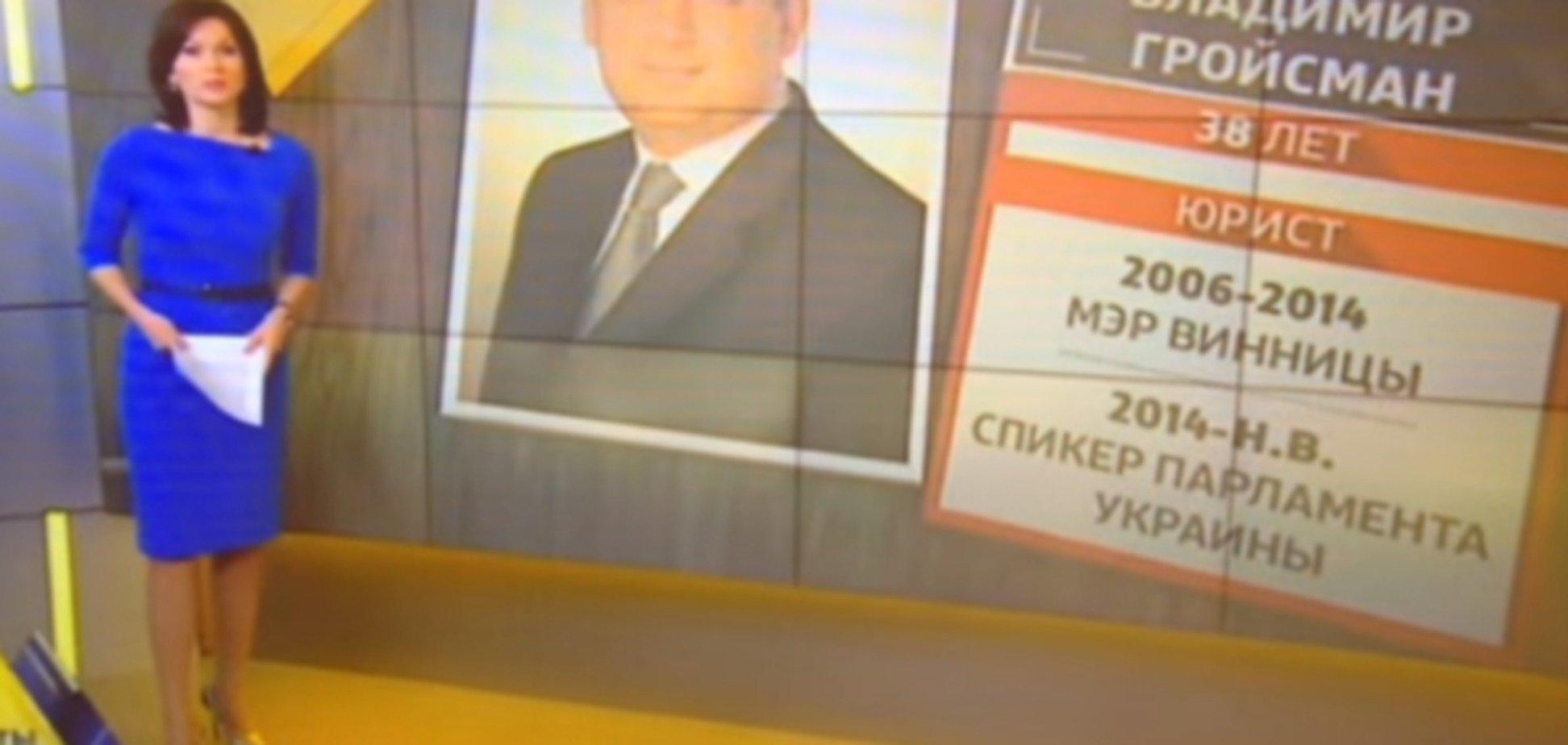 'Що про нього відомо? Єврей...' КремльТВ відзначився скандальним сюжетом про Гройсманом