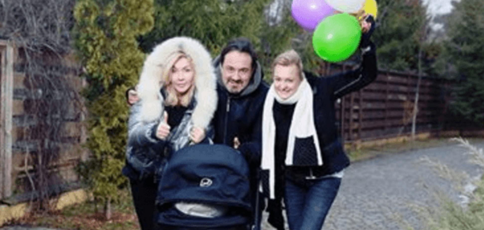 Ирина Билык и Гарик Кричевский с женой