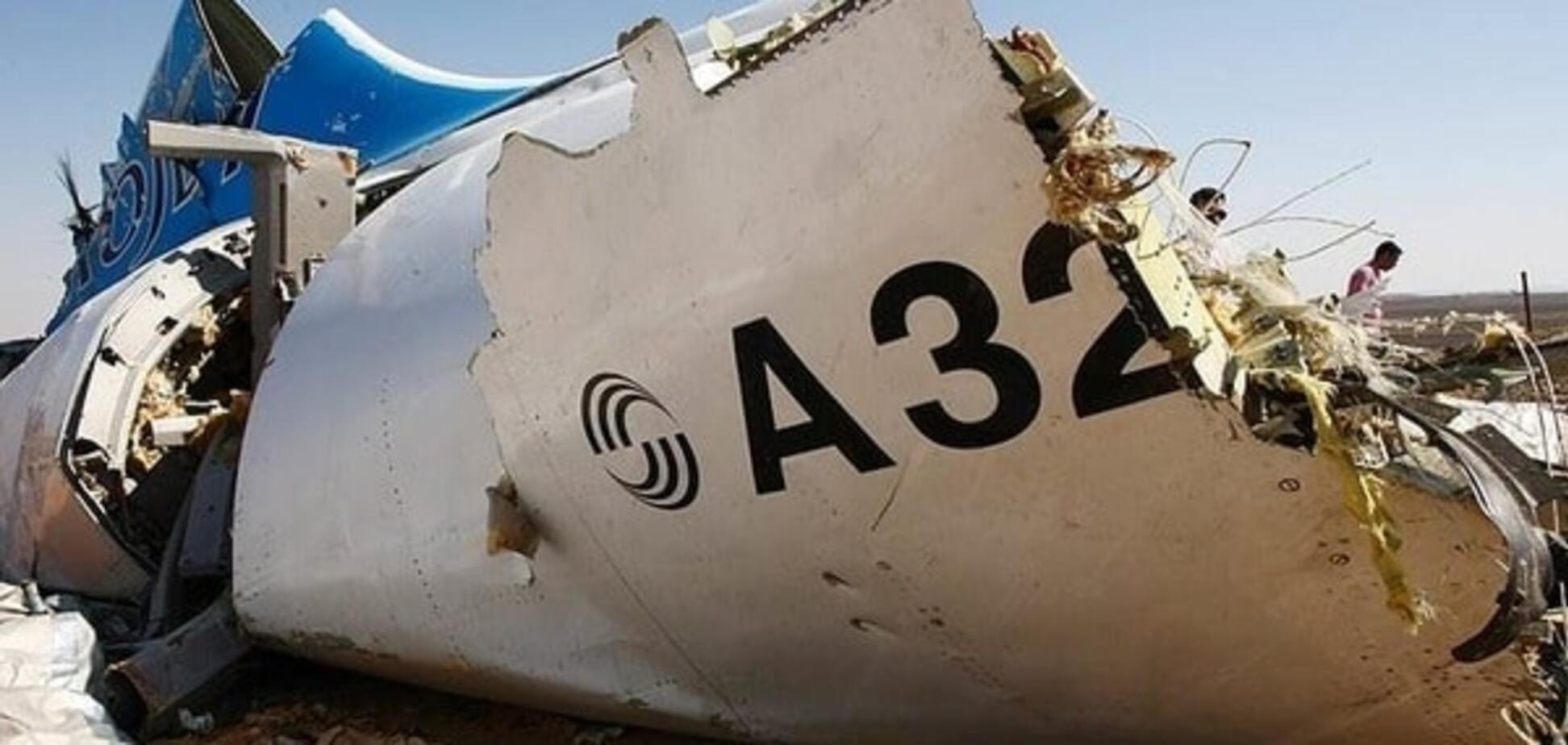 В Єгипті назвали офіційну версію катастрофи російського лайнера A321